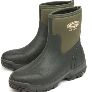 Grubs Midline Ankle Neoprene Wellington Boots (Unisex) – Green