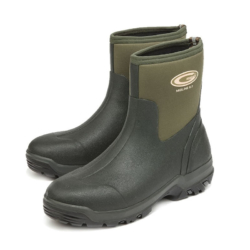 Grubs Midline 5.0 Wellington Boots Ankle Neoprene (Unisex) - Green