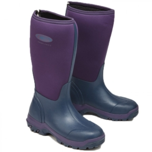 Grubs Frostline 5.0 Hi Neoprene Violet Wellington Boot