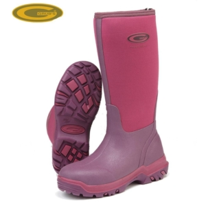 Grubs Frostline 5.0 Hi Neoprene Fuschia Wellington Boot