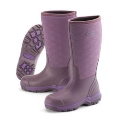 Grubs Iceline 8.5 Wellington Boots In Heather