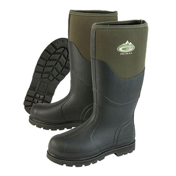Grubs Eskline 8.5 Wellington Boots - Green
