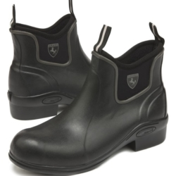 Grub Outline 5.0 Jodhpur Boots In Black