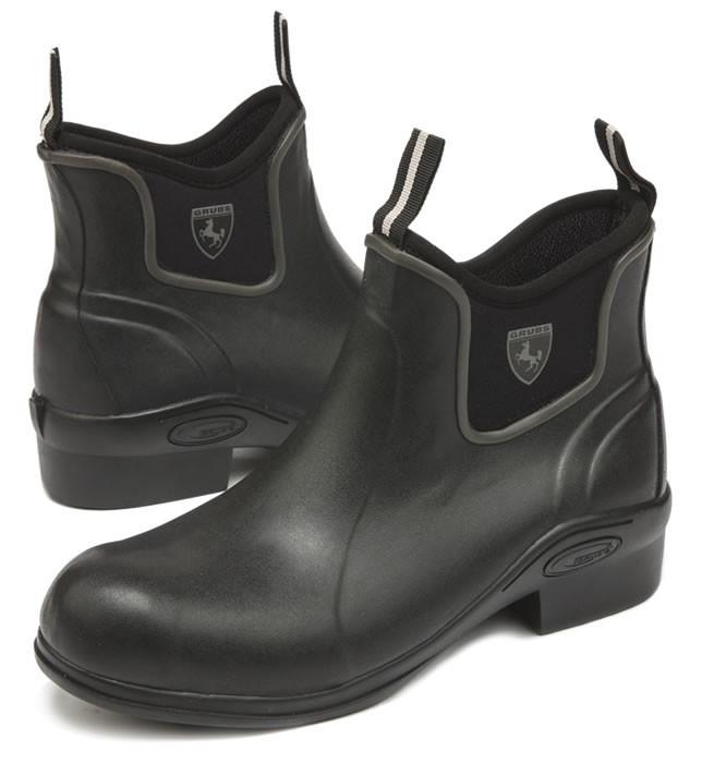 Grub Outline 5.0 Jodhpur Boots In Black