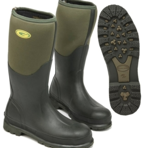 Grub Fenline 5.0 Wellingtons - Moss Green