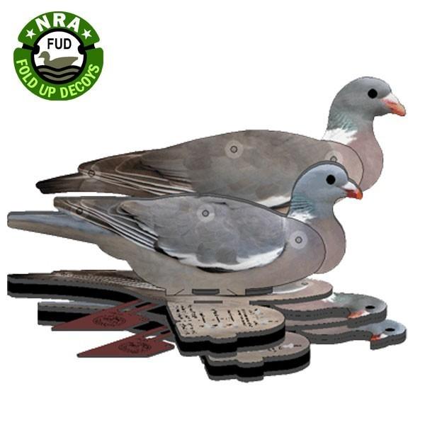 NRA Wood Pigeon Fold Up Decoy (FUD 6 Pack)