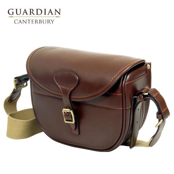 Guardian Canterbury Chestnut Leather Cartridge Bag