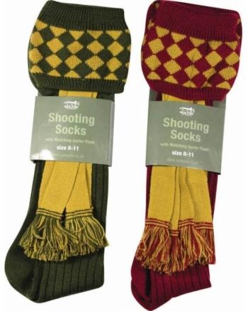 Jack Pyke Shooting Socks with Garter