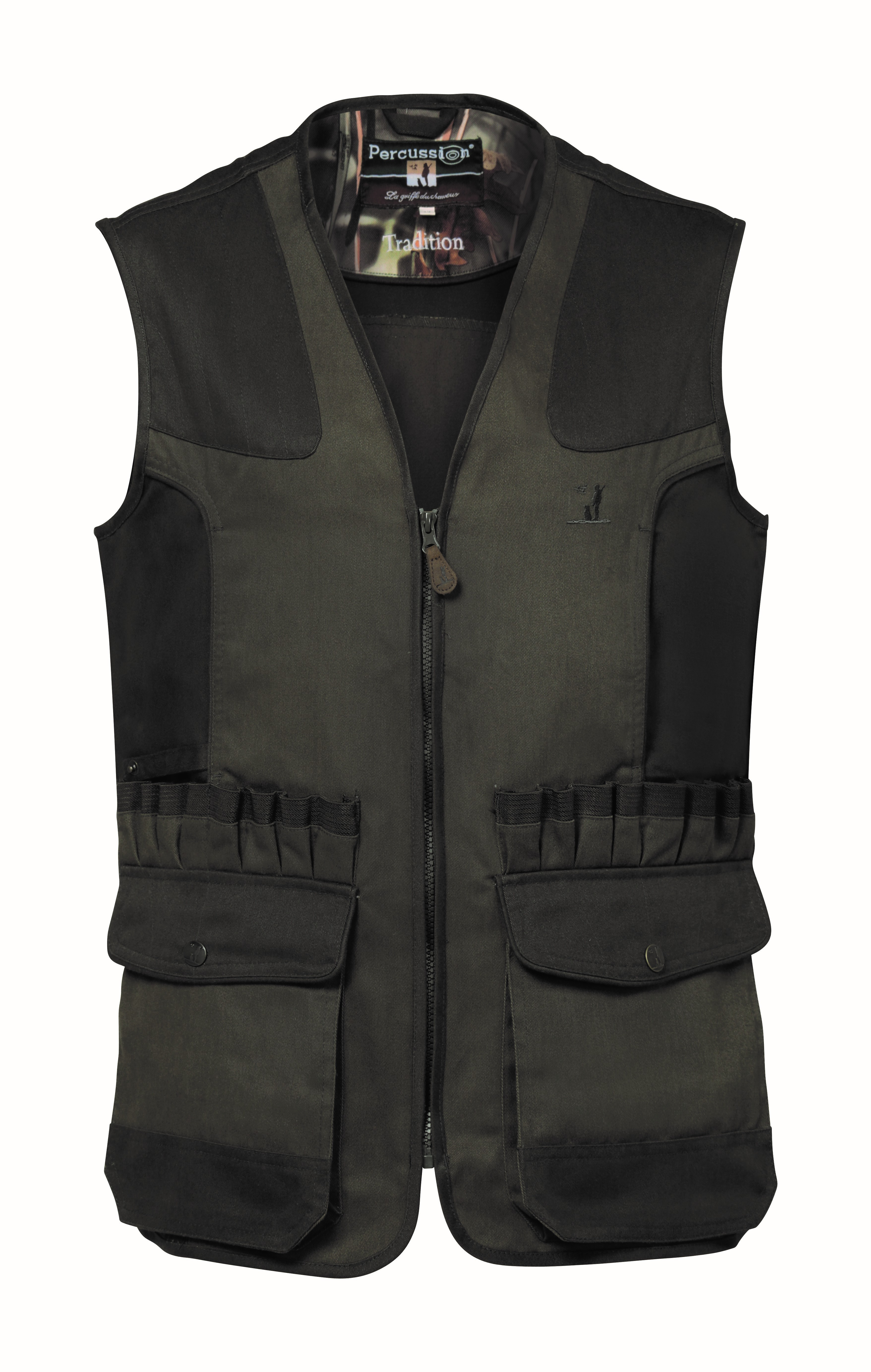 """Percussion Gilet/Vest """"Traditional""""  with external cartridge holders"""