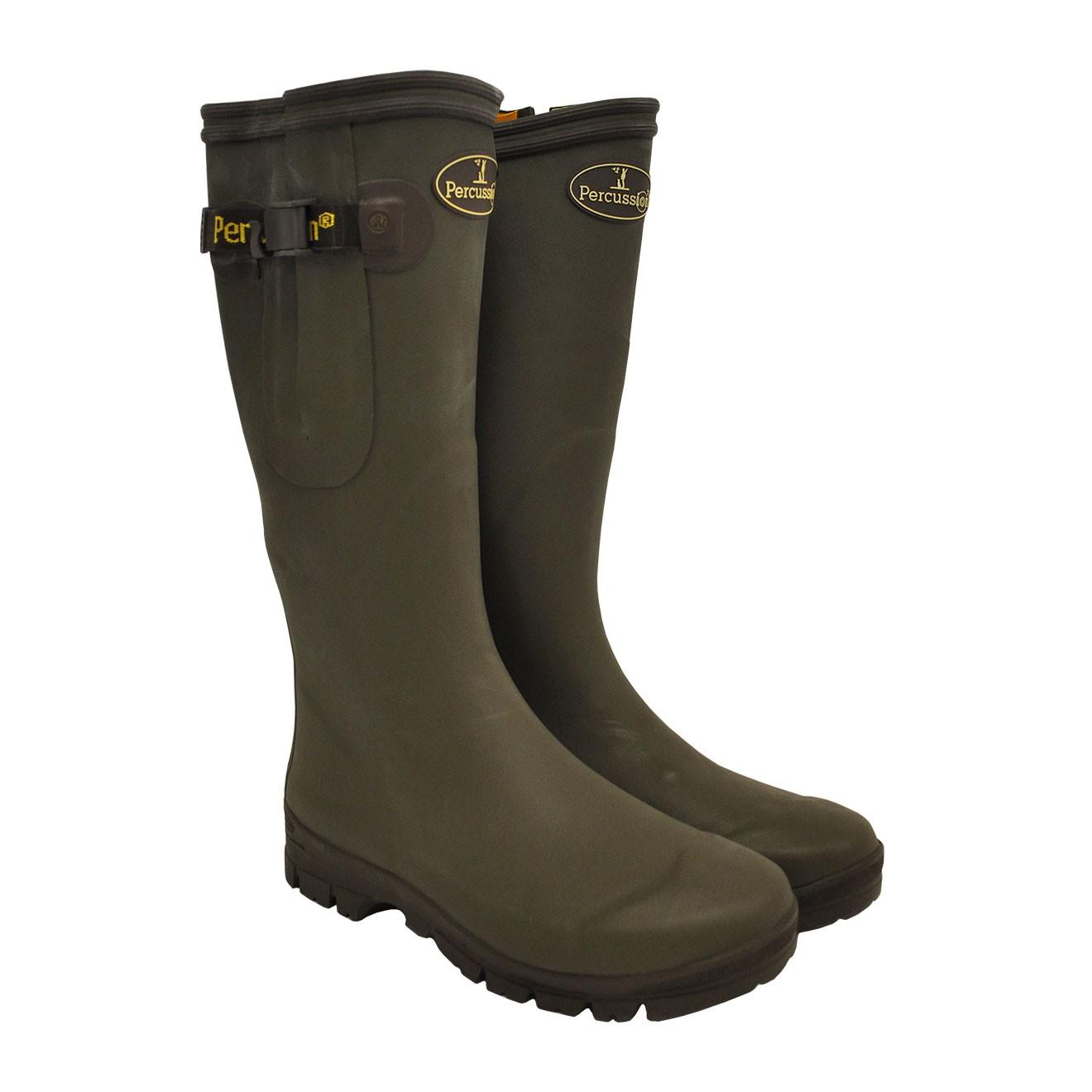 ee99d96b3915 Percussion Neoprene Hunting Wellington Boots -