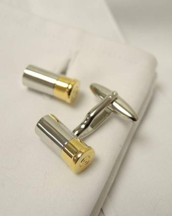 Shotgun Cartridge Cufflinks