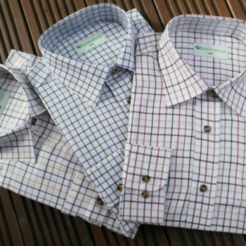 Hawkswood Country Classics Mens Long Sleeve Check Shirts Tattersall