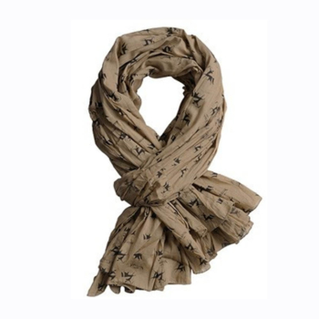 Verney-Carron Cheche Hunting Scarf In Beige