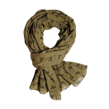Verney-Carron Cheche Scarf In Khaki