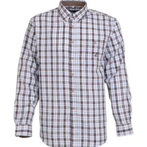Percussion Tradition Shirt - Brown-Blue