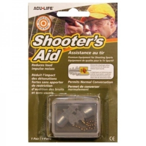 SONIC SHOOTERS AID HEARING PLUGS SHOOTING EAR PLUGS