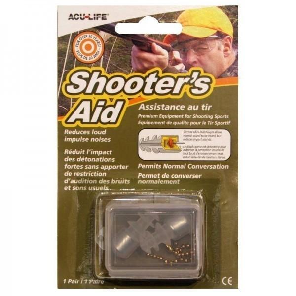 SONIC SHOOTERS AID HEARING PLUGS SHOOTING EAR PLUGS