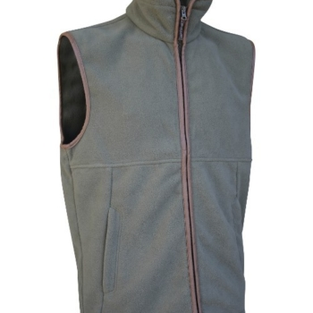 Jack Pyke Countryman Fleece Gilet In Olive