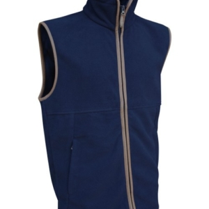 Jack Pyke Countryman Fleece Gilet In Navy