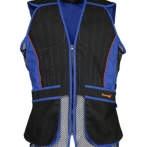 Percussion Skeet/Clay Shooting Vest In Black and Blue