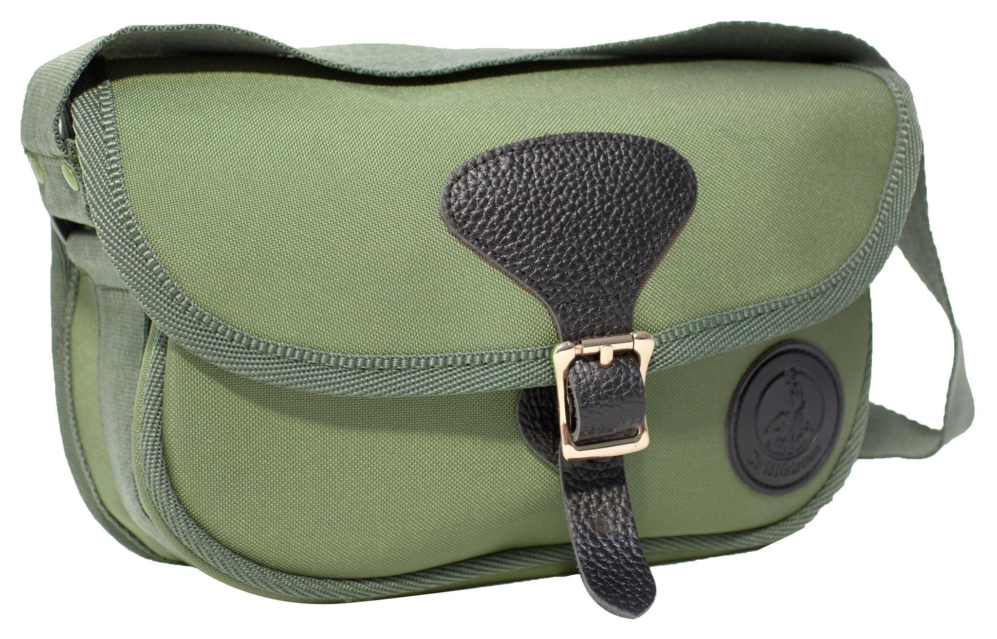 David Nickerson Canvas Cartridge Bag. - Balnecroft Country Clothing
