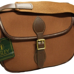 Bisley Canvas Cartridge Bag - 100 - Fox Brown