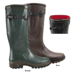 Aigle Parcours 2 ISO Wellington Boots (Unisex) Dark Green