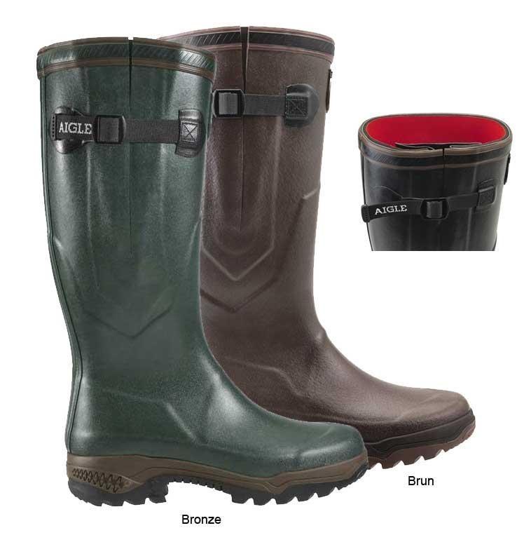 Aigle Parcours 2 ISO Wellington Boots (Unisex) Dark Green