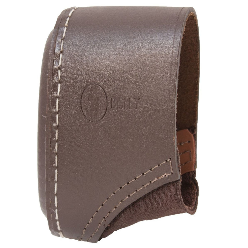 Real Leather, hand stitched Slip-on Recoil pad Stock Extender