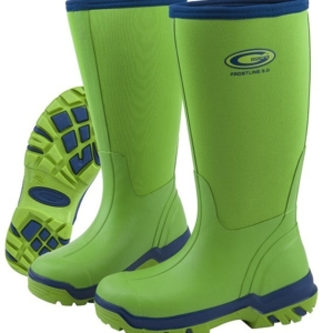 Grubs Frostline 5.0 Wellington Boots in Apple