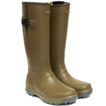 Grubs Highline Wellington Boots in Green