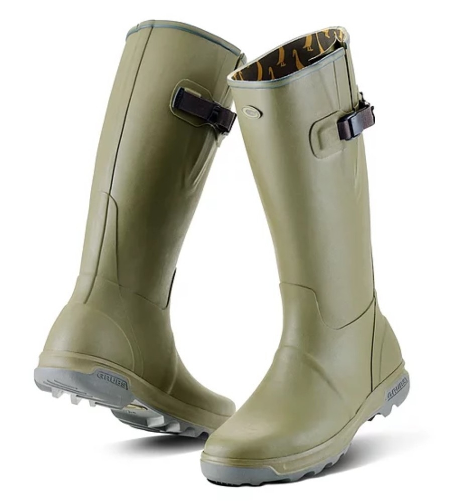highline boots in sage green