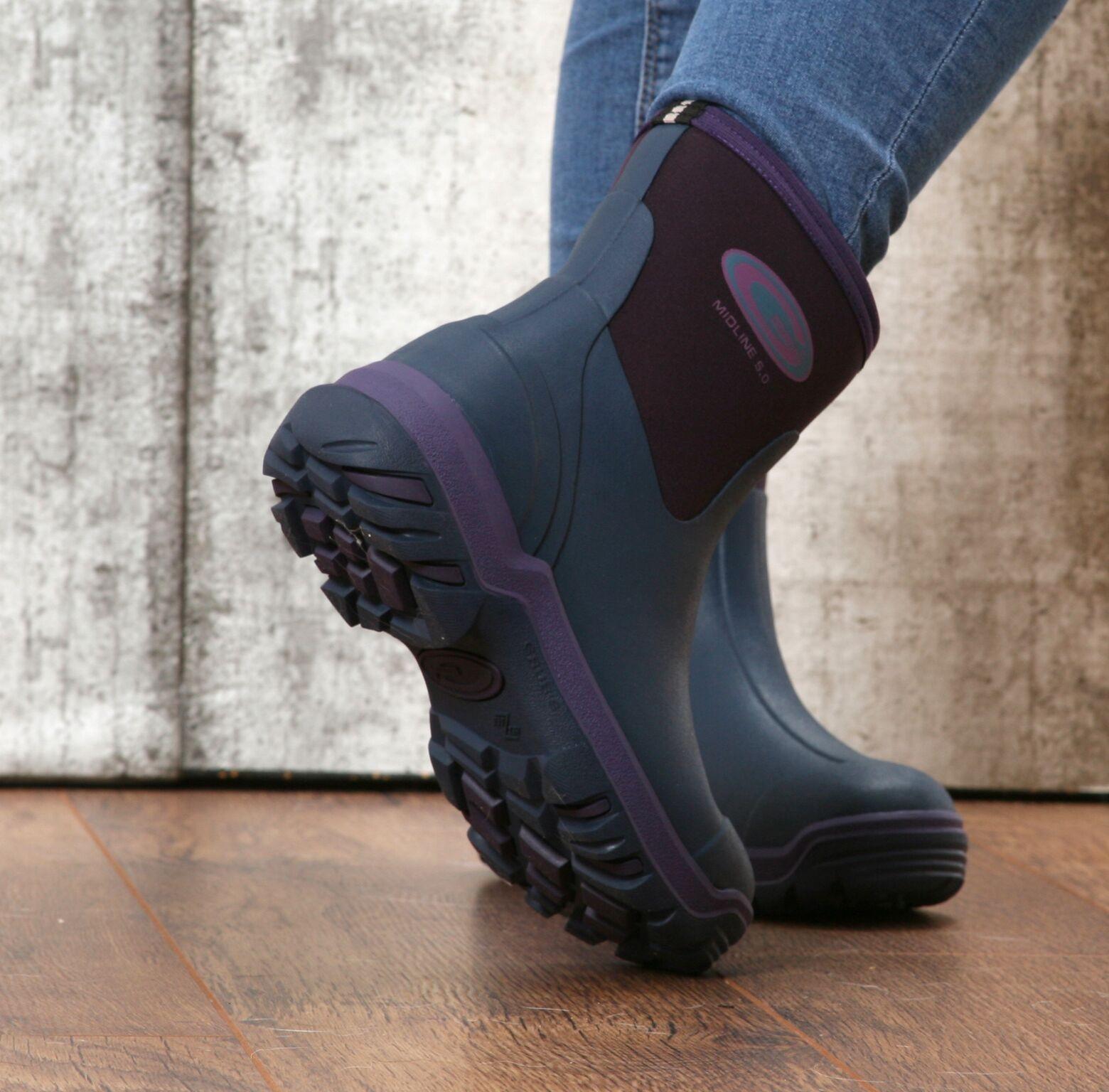 Grubs Midline Violet ladies 5.0 Wellington Boot