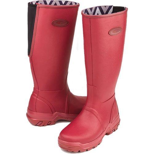 Grubs Womens Rainline Boots Rosewood