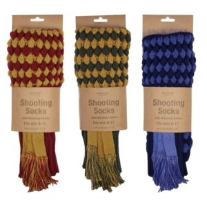 Jack Pyke Pebble Shooting Socks & Garter