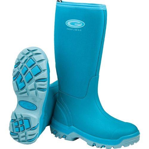Grubs Frostline 5.0 Wellington Boots in Azure
