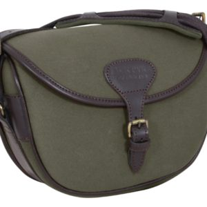 Jack Pyke Canvas 100 Cartridge Bag Green or Brown Jack Pyke Canvas 100 Cartridge Bag Green