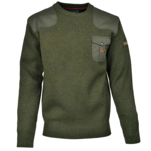 Percussion Round Neck Shooters Jumper Pullover