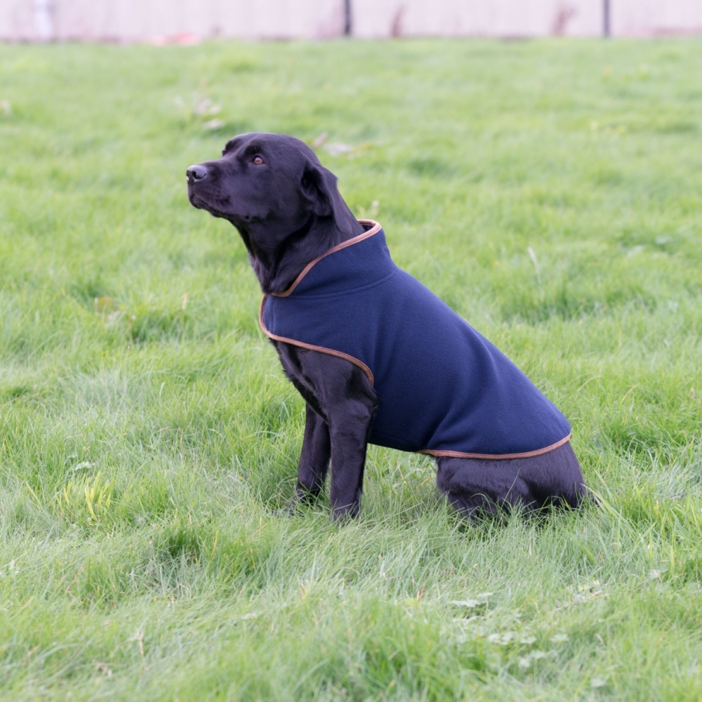 Jack Pyke Fleece Dog Coat In Navy or Green