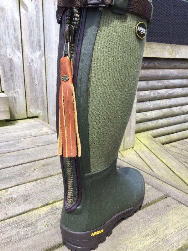 Arxus Primo Canvas Zip Boot