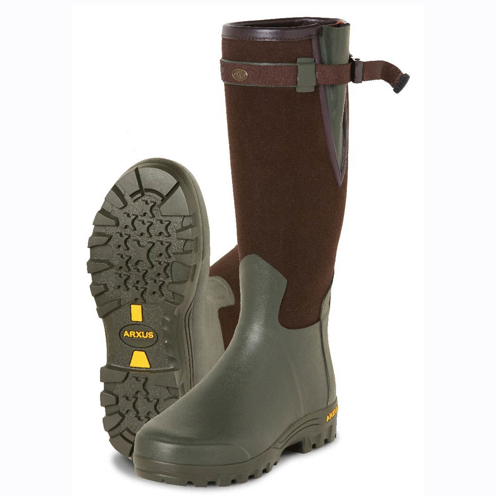 Arxus Primo Canvas Wellington Boot