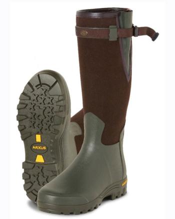Arxus Primo Canvas Wellington Boot