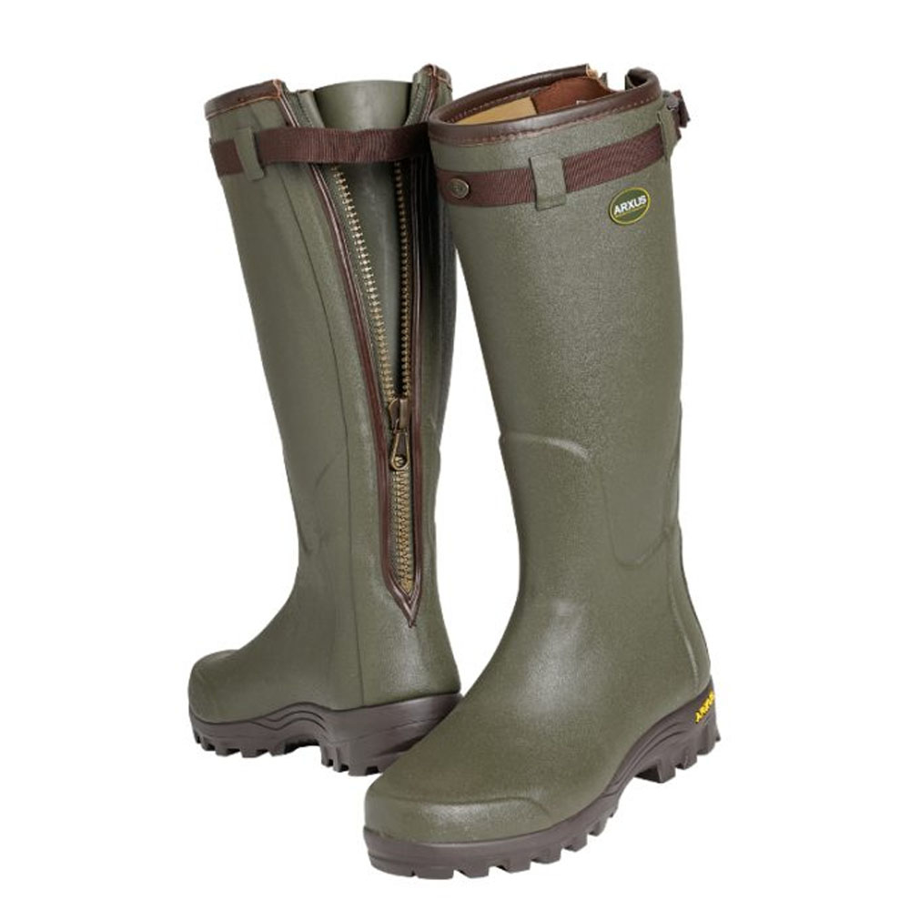 Arxus Primo Leather Zip Wellington Boot