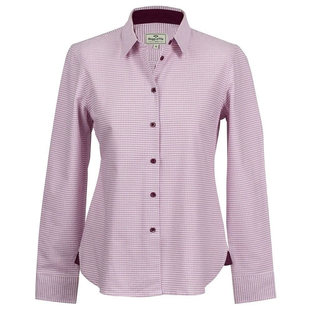Hoggs Of Fife Brodie Ladies Country Checked Shirt