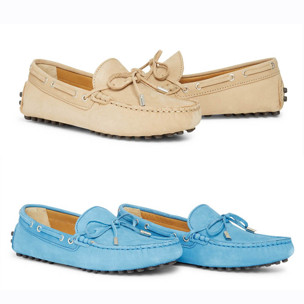 Kanyon Sorrento Driving shoe in Sand or Blue