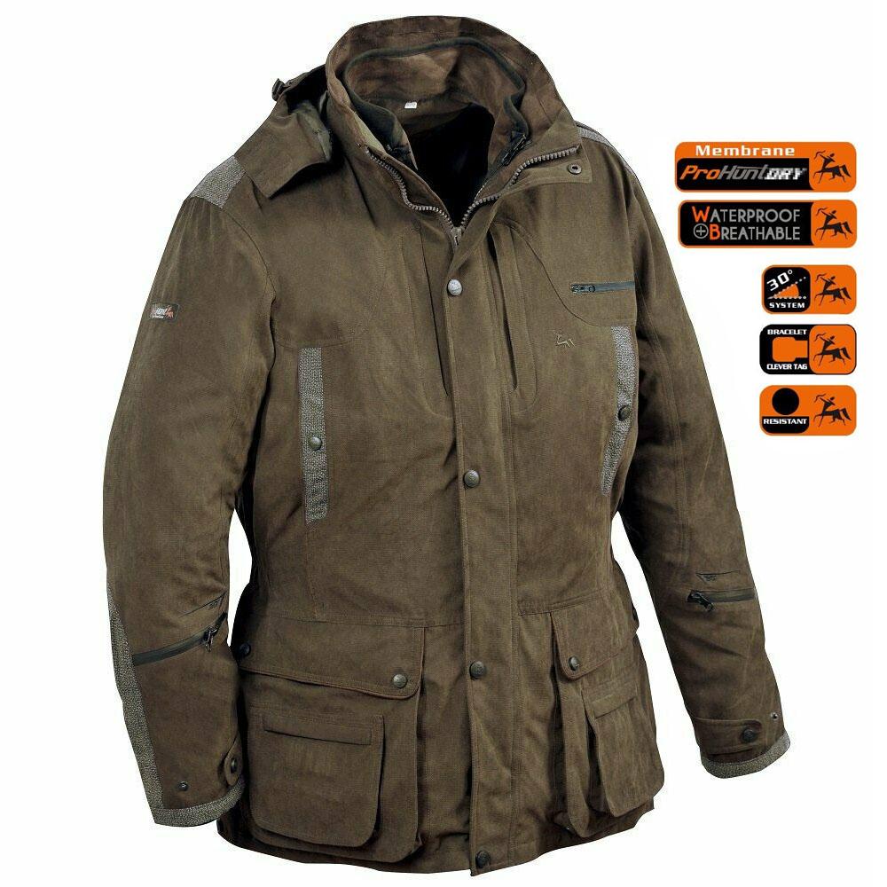 Verney Carron Ibex 3 In 1 Waterproof Jacket in olive
