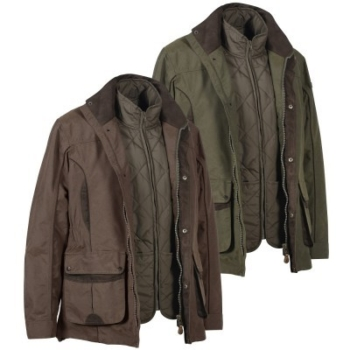Percussion Normandie Jacket 3 in 1 with Removable Vest