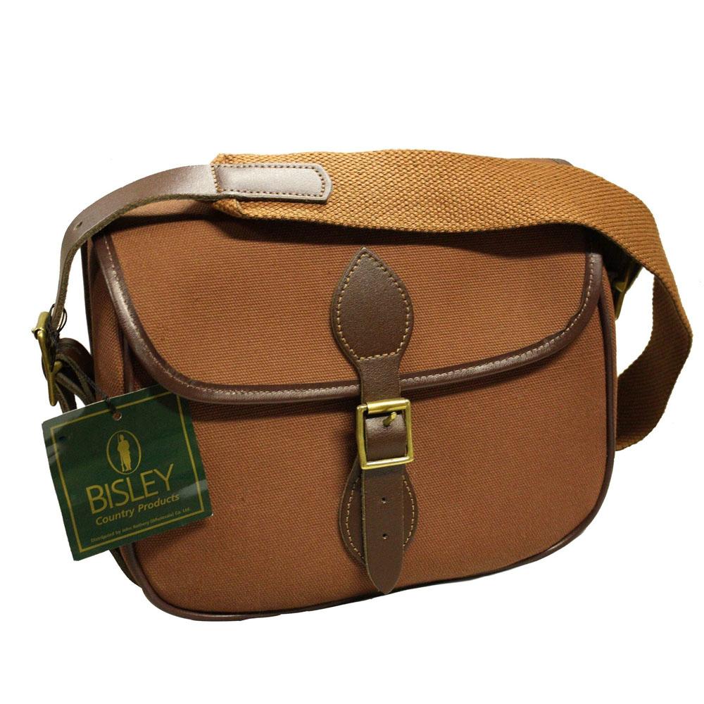 Bisley Canvas Cartridge Bag – 100 – Fox Brown