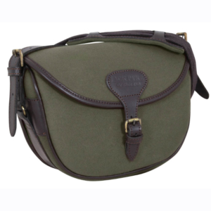Jack Pyke Canvas 100 Cartridge Bag Green, Brown Fawn
