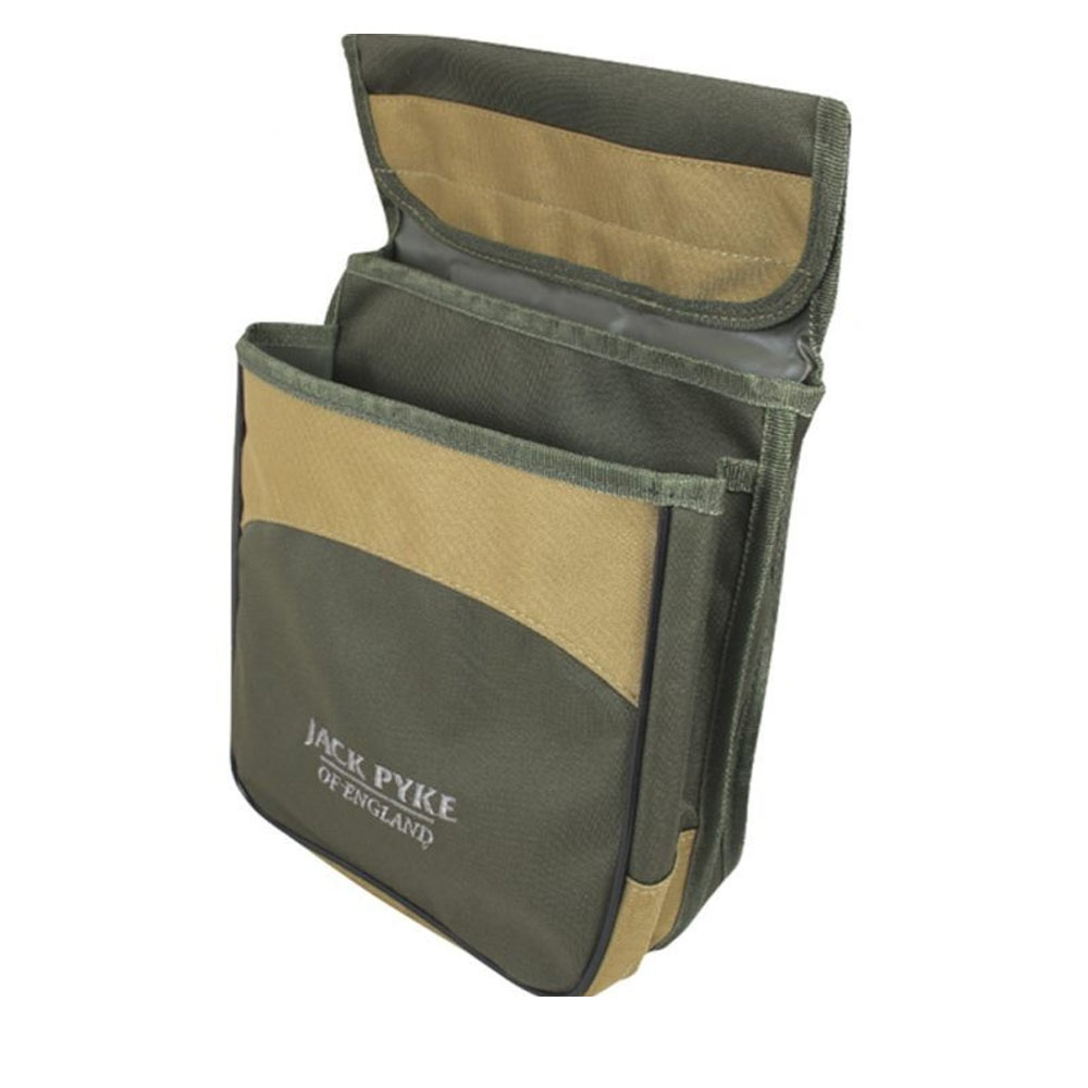 Jack Pyke Sporting Cartridge Pouch Green Double Pocket Belt Loop